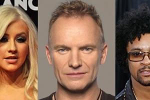 Sting, Christina Aguilera y Shaggy den CNSJ 2018