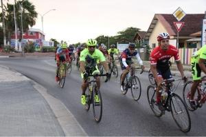 Aruba Wieler Bond ta tene cu su paseo silencio riba bicicleta