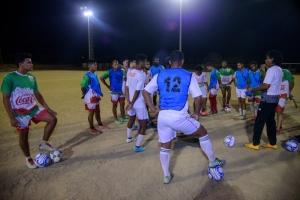 Coca Cola Nacional cla pa retene titulo di campeon futbol Division di Honor