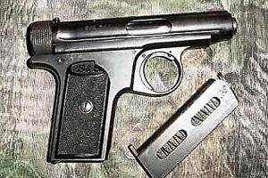 Durante control marduga, kustsurveillance a haya arma den auto