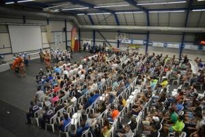 Cantidad record di 586 participante den 'Ronde van Aruba' awe nochi!