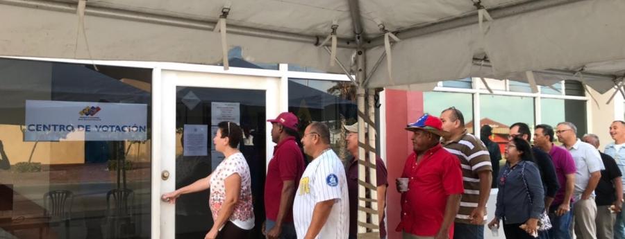 Venezolanonan na Aruba tambe a vota pa eleccion presidencial