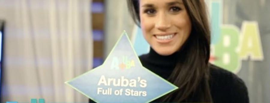 Video di 2014 cu Meghan Markle promoviendo Aruba a 're-aparece'