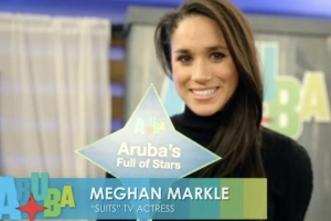 Video di 2014 cu Meghan Markle promoviendo Aruba a 're-aparece'
