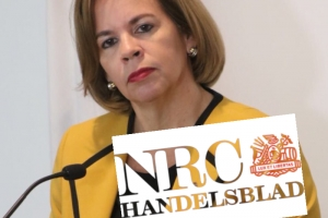 Articulo a bira 'discusion publico' entre prome minister y NRC Handelsblad