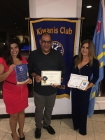"Kiwanis Club of Aruba a ricibi reconocimiento ""Top Club di District'"