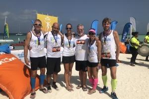 Aruba Growth Fund su miembronan a participa den KLM Aruba Marathon