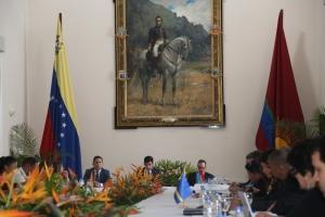Reunion tecnico entre islanan ABC y Venezuela a continua awe na Valencia