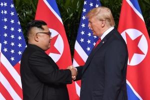 Donald Trump y Kim Jong Un a topa den encuentro historico