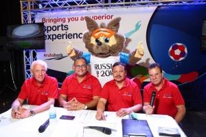 Prome wega di FIFA World Cup 2018 presenta den gran forma