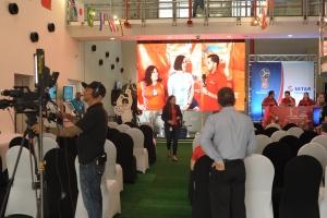 Prome transmision di futbol Rusia 2018 a cuminsa awe na SETAR Sero Blanco