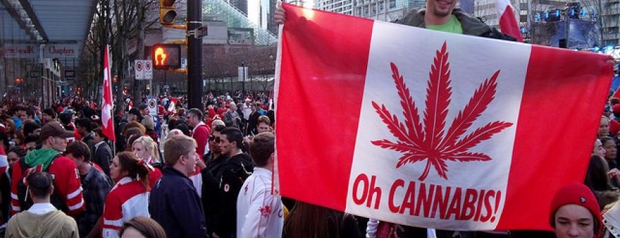 Canada, e dos pais na mundo pa legaliza uso recreacional di marijuana