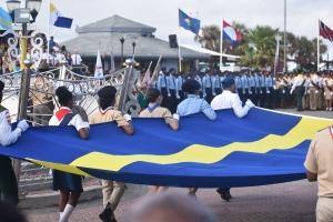 Corsou a celebra Dia Di Bandera na grandi atrobe