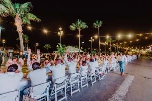 Long Table event di Renaissance a genera $ 25.000,= pa Casa Cuna