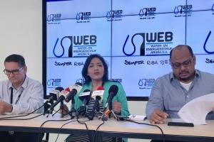 Ruiz: Problema di huma di WEB no ta nifica aumento prijs awa y coriente