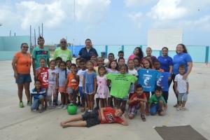 Proyecto Aruba di Circle K Club 'Aruba den movecion' a inicia