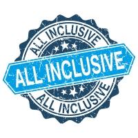 No por para 1000 camber All Inclusive extra pa Holiday Inn aunke tin un ley