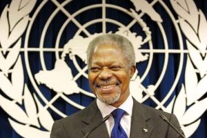 Aruba a manda palabra di condolencia pa morto di Kofi Annan