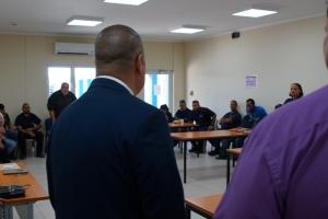 Hassell: E union entre trahadornan di GNC a resalta durante reunion cu minister