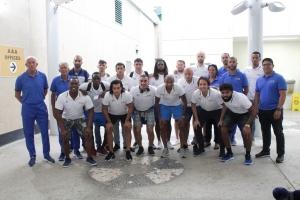 Seleccion Nacional di futbol di Aruba a biaha pa enfrenta Guadalupe