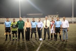 Minister Oduber a efectua e apertura di Campeonato di futbol Division Honor