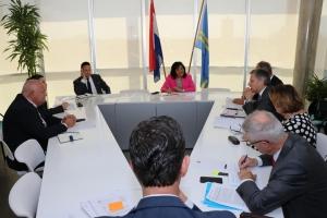 Ruiz: Gobierno di Aruba cu reunion positivo cu ehecutivonan di CAFT