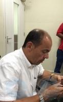 Periodista deteni a drenta welga di hamber como protesta