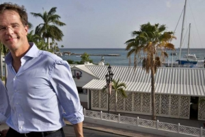 Prome minister Hulandes Mark Rutte na Aruba na januari 2019