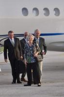 SAR Princesa Beatrix a yega Bonaire diaranson atardi