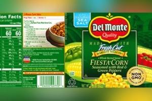 Segun e compania, 'recall' di producto di Del Monte ta valido pa Aruba tambe