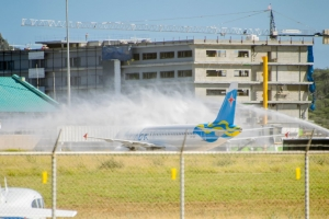 Aruba Airlines a ricibi su avion di mas nobo awe mainta
