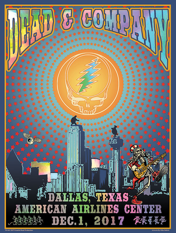 dead and company december 1 2017 american airlines center dallas tx mp3 and flac live dead. Black Bedroom Furniture Sets. Home Design Ideas