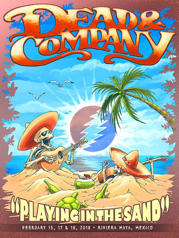 Dead and Company , Playing In The Sand 2018 MP3 and FLAC | Live Dead
