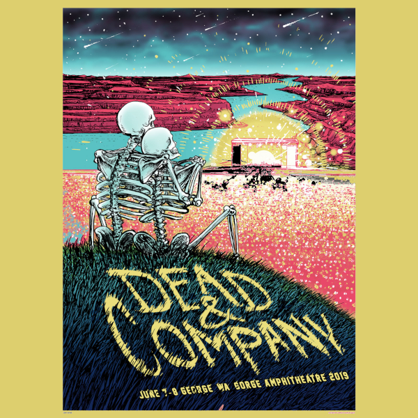 Dead and Company June 7, 2019, The Gorge Amphitheatre