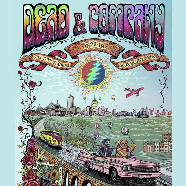 Dead and Company June 22, 2019, Gillette Stadium, Foxborough