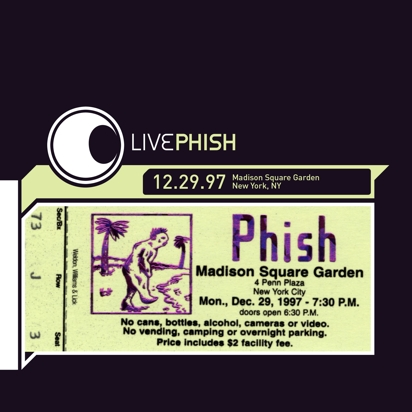 Download phish 1997 12 29 madison square garden new york - Phish madison square garden tickets ...