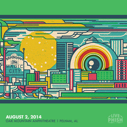 Phish - Livephish 11.14.95 University Of Central Florida Arena, Orlando, FL