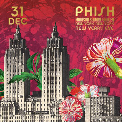 Image result for phish madison square garden 2012