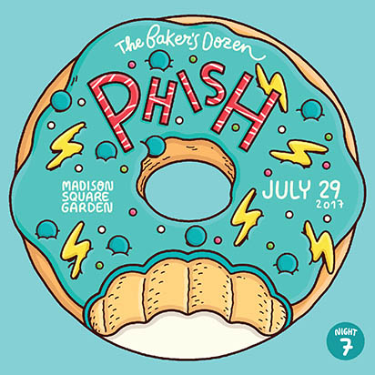 Livephish download or stream phish 7 29 17 madison - Phish madison square garden tickets ...
