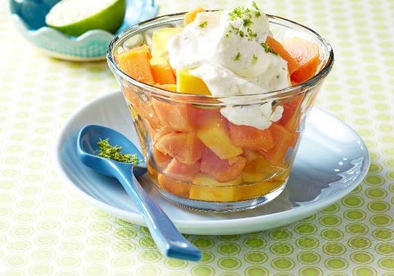 2 postres frutales para refrescarse en verano