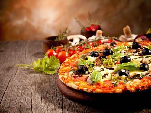 ¡Pizza, pizza, pizza!