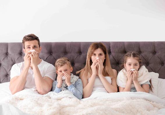 La gripe, ¿una cuestión de suerte?