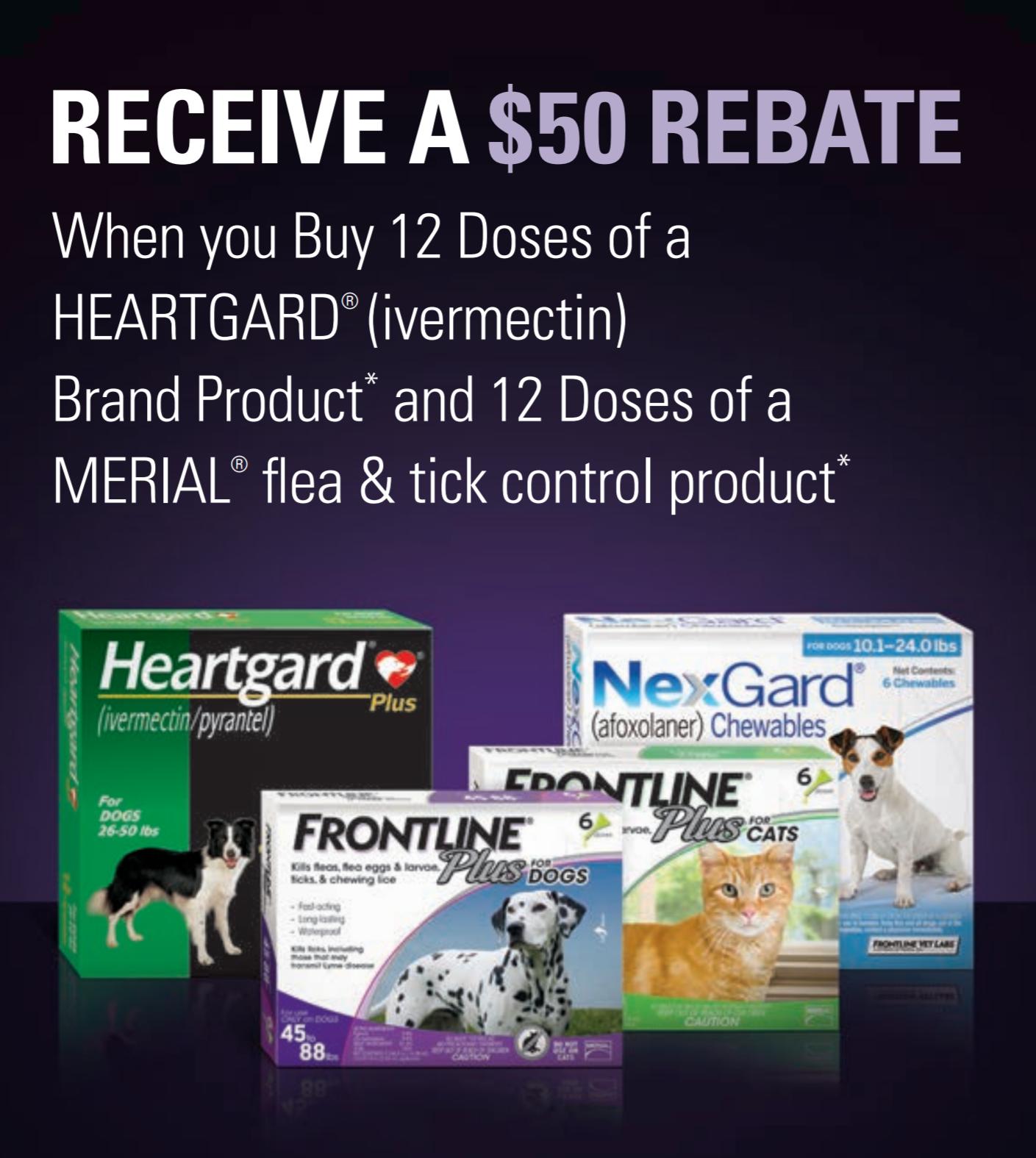 50 rebate heartgard