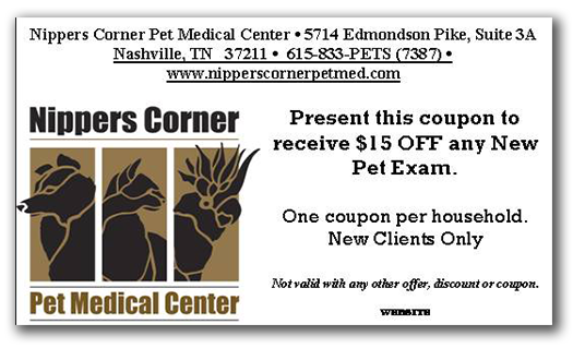 Nippers Corner Pet Medical Center Coupons