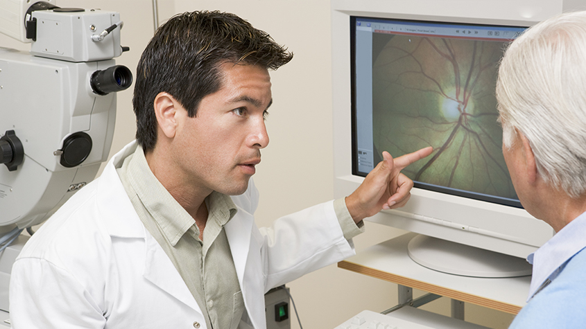Diabetic Related Eye Exams