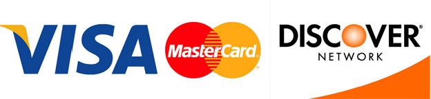 visa mastercard discover logo