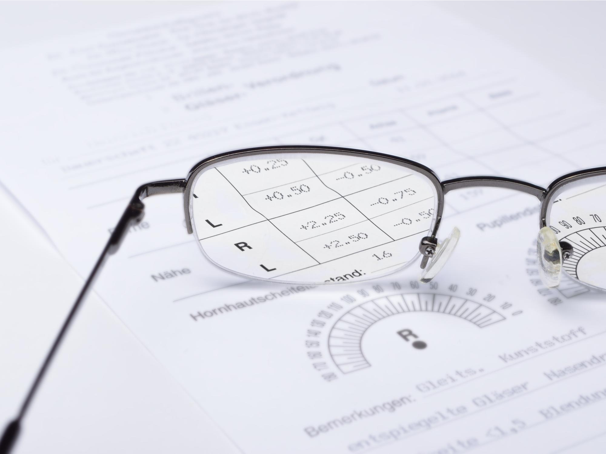 How Do I Read My Eye Prescription?