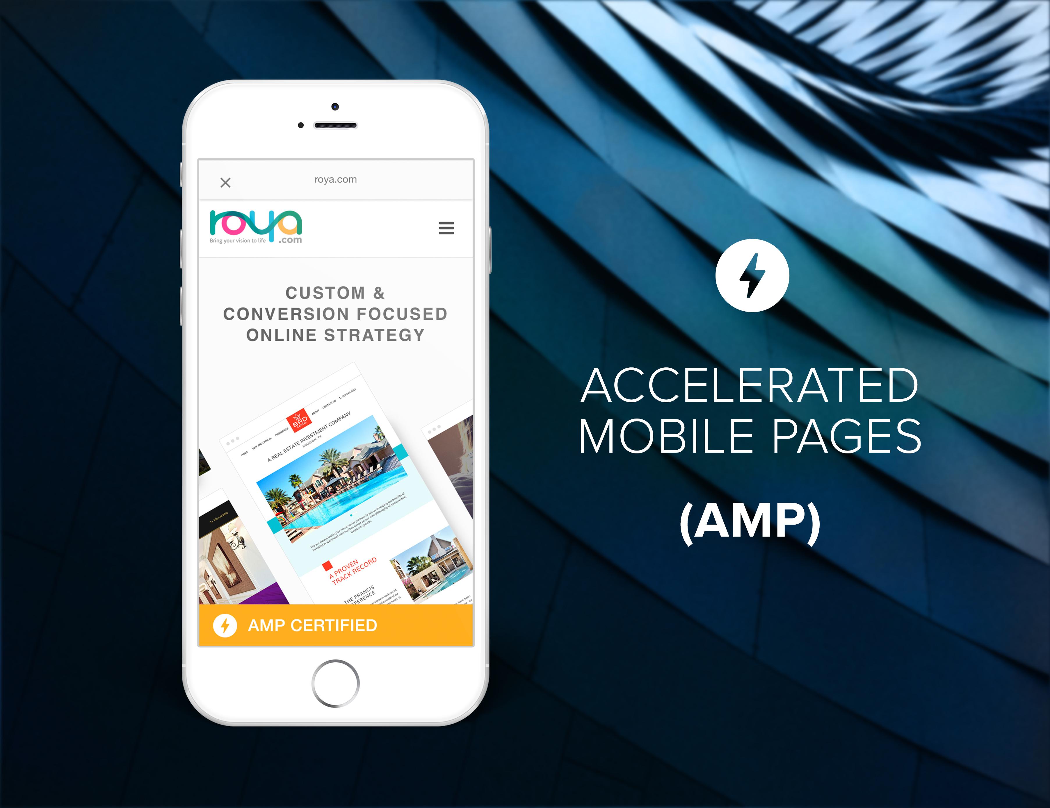 Roya.com AMP