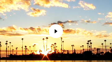 Mission Beach Sunset Time Lapse