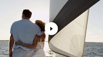 A Couple on a Yacht